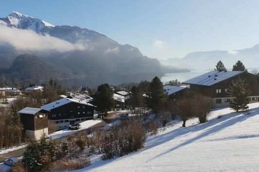 Dreizimmermietwohnung mit wunderschönem Blick auf den Wolfgangsee und die Bergwelt des Salzkammergutes