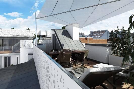 Exklusive DG-Wohnung mit Terrasse, Balkon und Panoramablick Nähe Stadtpark