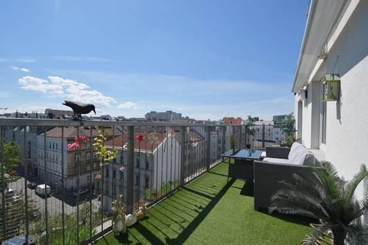 Charmante DG-Wohnung mit Terrasse Nähe Reumannplatz