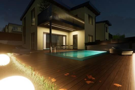 Projekt: Smaragd – Stilvolle Architekten-Einfamilienhäuser mit unvergleichbaren Highlights …