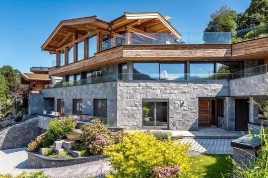 Architekten-Villa in herrlicher Sonnenlage