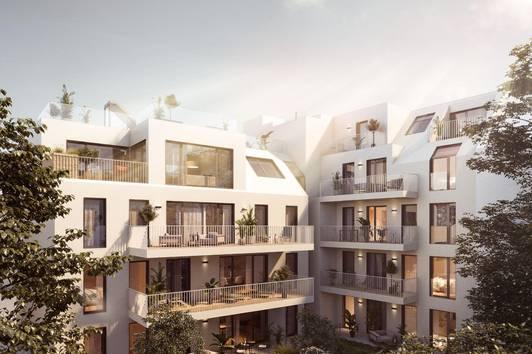 HOMMAGE AU COTTAGE - 20 Wohnungen in Gersthofer Ruhelage (Top 14)