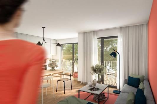 HOMMAGE AU COTTAGE - 20 Wohnungen in Gersthofer Ruhelage (Gartenwohnung Top 2)