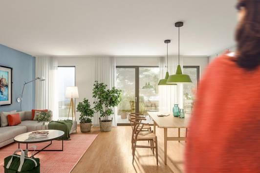 HOMMAGE AU COTTAGE - 20 Wohnungen in Gersthofer Ruhelage