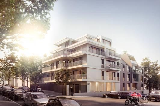 HOMMAGE AU COTTAGE - 20 Wohnungen in Gersthofer Ruhelage (Top 8)