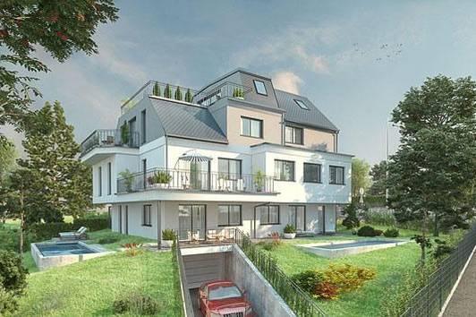 Nur noch eine Wohnung von Bauträgerprojekt +++4 Zimmer--westliche Terrasse+++Grünruhelage+++