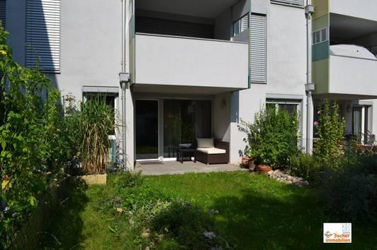 barrierefreie 2 Zimmer Eigentumswohnung mit eigenem Garten und Tiefgaragenplatz