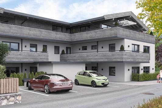 Terrassenwohnung im Herzen von St. Johann ( 2020-03606 )