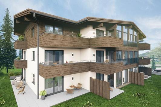 Zentrumsnahe Wohnung mit Panoramablick ( 2020-03318 )