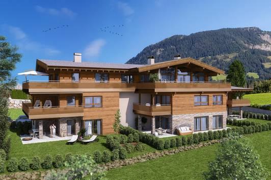 Neubauwohnung mit schönem Kaiserblick ( 03692 )