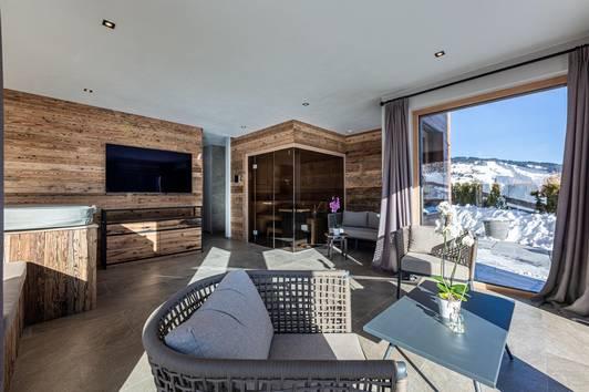 Modernes Luxuschalet mit Panoramablick ( 02830 )