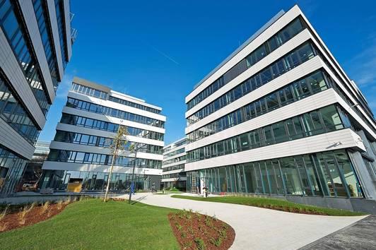 EURO PLAZA – Wiens erster Office Park lässt keine Wünsche offen