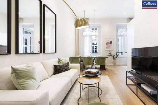 Top exklusives 2-Zimmer-City-Apartment mit hauseigener Wellnessanlage und Gym