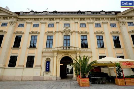 Dachgeschoss-Büro im Palais Harrach