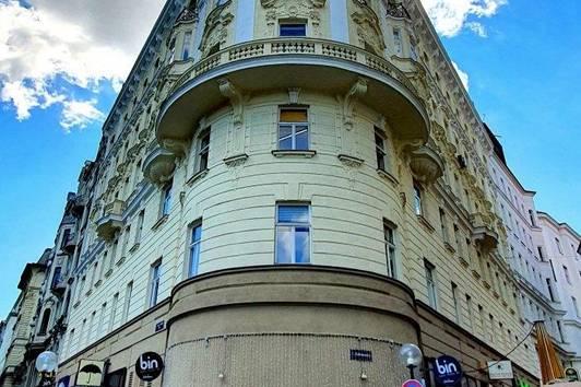 Dachgeschoßbüro am Schwedenplatz