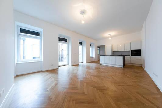 Hoch-Exklusive und Moderne 2Zimmer Wohnung mit Balkon nähe Mariahilfer Straße,Erstbezug!