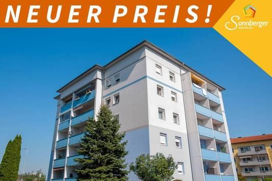HOCH HINAUS - 3-Zimmer-Eigentumswohnung mit Loggia in Enns