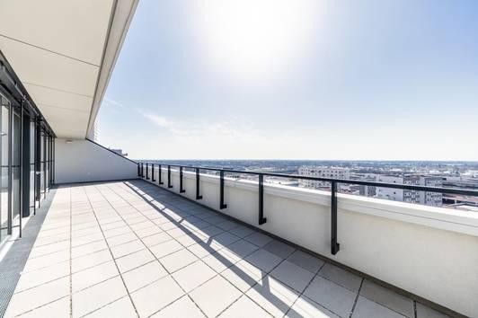 Blick über Wien - SEESEE TOWER - ERSTBEZUG - U-BAHNNÄHE PROVISIONSFREI