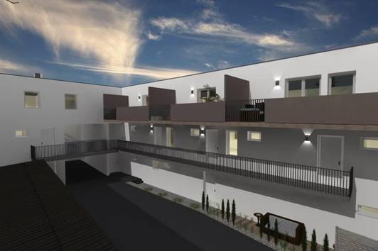"""*RIVERSIDE"""" Modern und zentral geplantes Neubauprojekt + schlüsselfertige + 4 Zimmer Maisonettewohnung inkl. Terrasse in Baden!"""