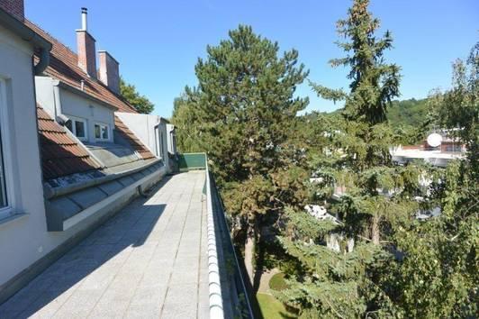 """""""Sievering"""" Dachterrassentraum mit unverbautem Fernblick Richtung Bellevue und Cobenzl!"""