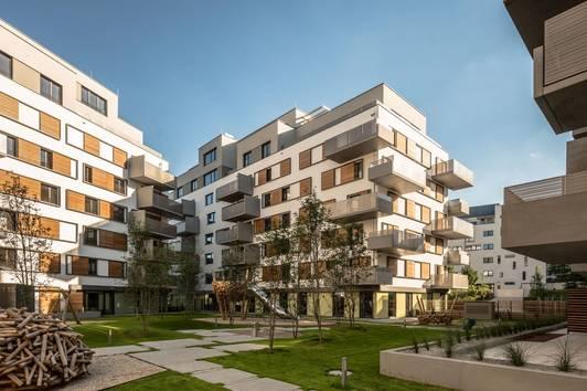 Helle, ruhige 3 Zimmer Wohnung mit Innenhoflage, Nähe U2 Aspernstraße