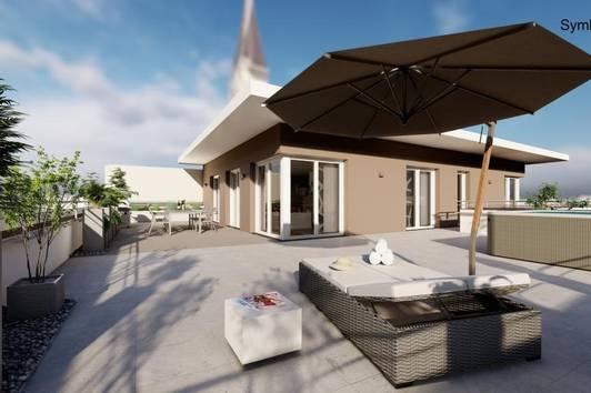 Wels, Urban Living - Eigentumswohnung mit großer Dachterrasse - Whg. 18/5.OG