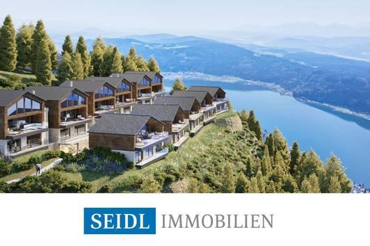 Ski In – Ski Out: Seeblick-Chalets auf der Gerlitzen zur touristischen Vermietung