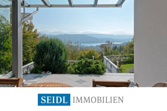 VERKAUFT: Villa mit See- und Karawankenblick