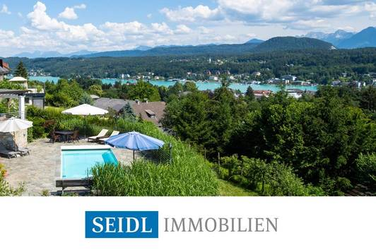 Atemberaubende Seeblick-Villa in bester Lage
