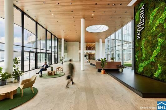 Büroflächen im Peak Vienna