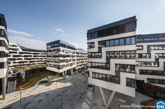 Modernes Arbeiten im VIENNA WORKS am Austria Campus