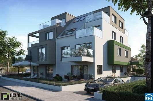 Luxury - Twenty One: Designwohnungen in der sehenswerten Lage Floridsdorfs !