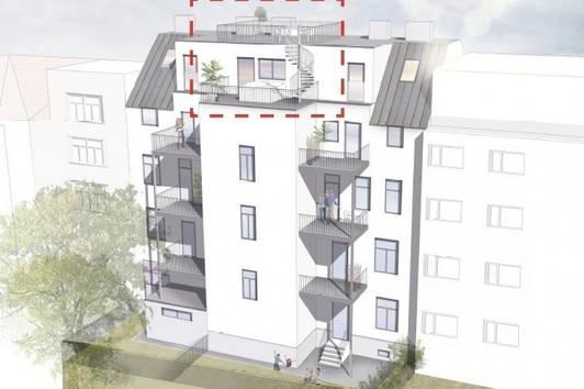 Konstanzia Top 8 - Moderne Dachgeschossmaisonette mit Terrassen und 360° Blick