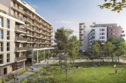 Nachhaltiges Neubauprojekt in Wien 22