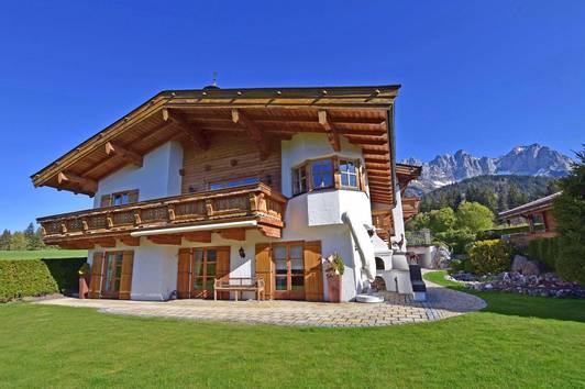 Tiroler Landhaus am Fuße des Wilden Kaisers