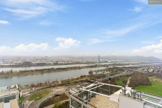 Penthouse mit atemberaubendem Blick über Wien