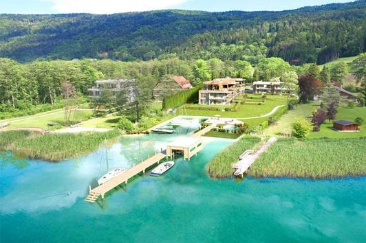 Frontaler Seeblick - Seewohnung im Private Resort - The Lakes