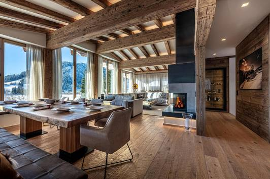 Chalet Golfblick - Neubau in sonniger Lage von Kitzbühel