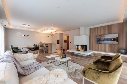 Möblierte Neubau Garten Wohnung in zentraler Lage von Kirchberg