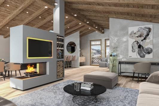 "Modern-Alpine Luxus Chalets in Kirchberg ""Seerose Chalets"""