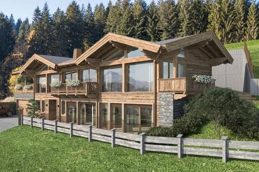 Chalet der Luxusklasse in uneinsehbarer Traumlage in Reith bei Kitzbühel