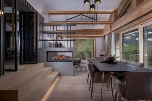 Luxuriöses Chalet mit zwei Freizeitwohnsitzwidmungen mit Blick über Westendorf