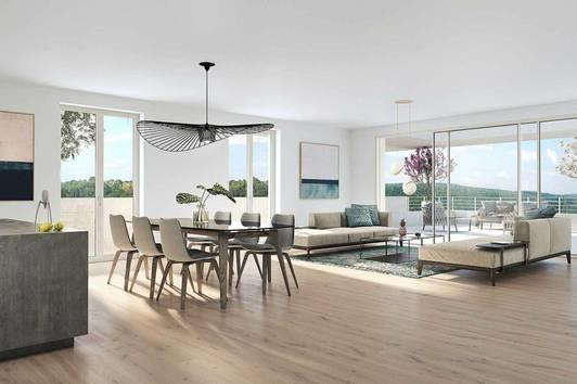 Verfügbare Eigentumswohnungen in der Greencity Graz
