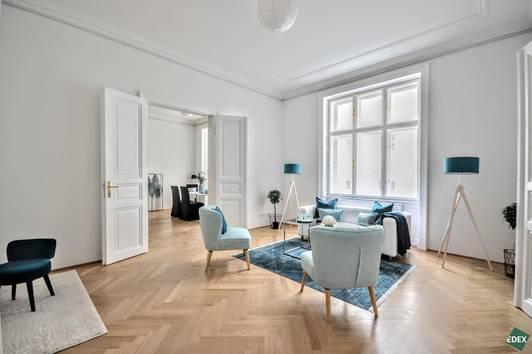 Smart Home - Erstbezug nach Sanierung - Klimatisierte 5-Zimmer Altbauwohnung