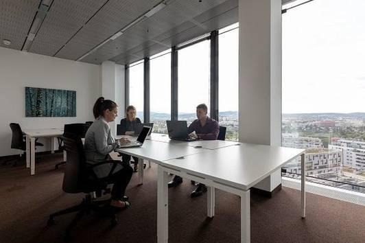 Privatbüro für drei Personen in Vienna, Twin Towers