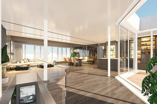 Luxus Penthouse mit Rooftop-Pool