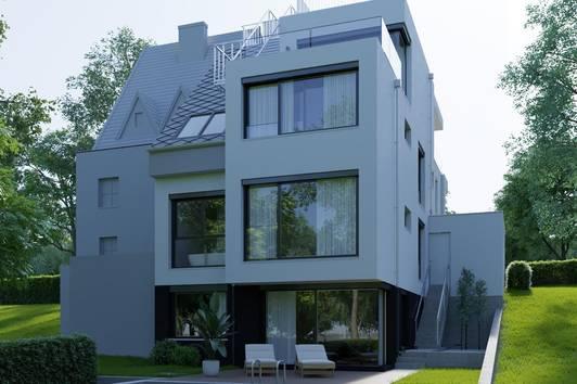 Moderne Stadtvilla in Sieveringer Aussichtslage