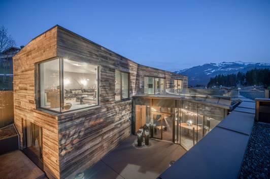 Traumhaftes Luxus-Chalet mit Panoramablick in Kitzbüheler Bestlage