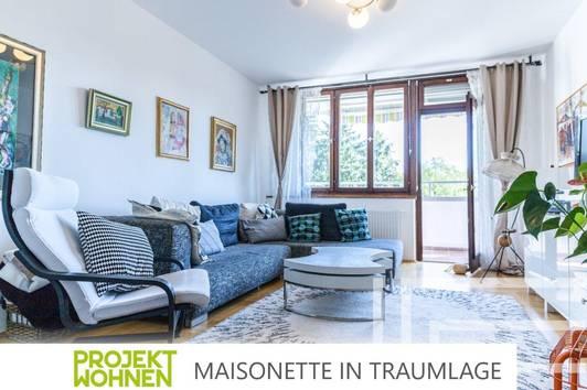 Charmante Maisonette-Wohnung in bester Lage / Ab November bezugsfähig