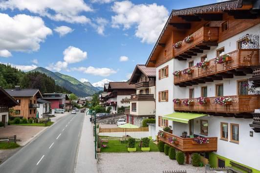 Renommierte Pension in Top-Lage von Saalbach